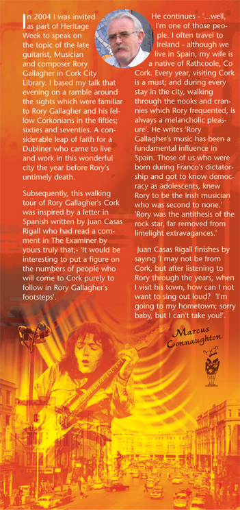 Marcus Connaughton - Rory Gallagher: His Life and Times Intro