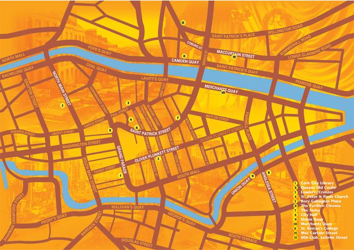 Lieux et monuments dédiés à Rory Gallagher - Page 3 Map